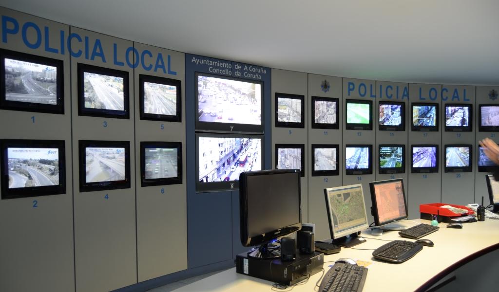 Centro de control de tráfico de A Coruña