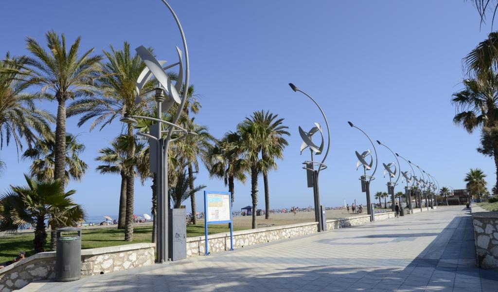 Barrio de La Misericordia en Málaga
